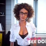 Beautiful sex doll created for Dirty Knights Sex Dolls posing nude at office (22)