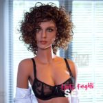 Beautiful sex doll created for Dirty Knights Sex Dolls posing nude at office (4)