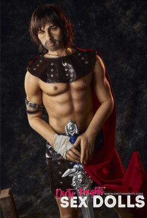 Charles male sex doll posing nude for Dirty Knights Sex Dolls (13)