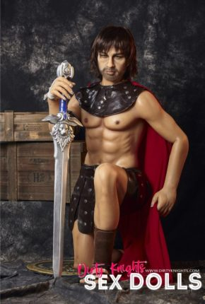 Charles male sex doll posing nude for Dirty Knights Sex Dolls (20)