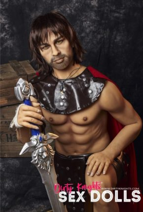 Charles male sex doll posing nude for Dirty Knights Sex Dolls (21)