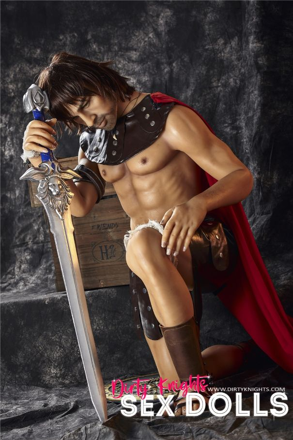 Charles male sex doll posing nude for Dirty Knights Sex Dolls (22)