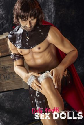Charles male sex doll posing nude for Dirty Knights Sex Dolls (23)