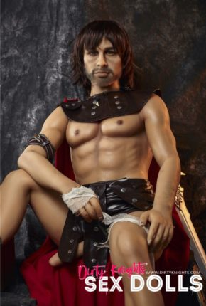 Charles male sex doll posing nude for Dirty Knights Sex Dolls (25)