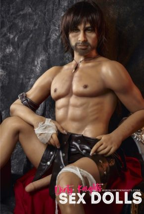 Charles male sex doll posing nude for Dirty Knights Sex Dolls (26)