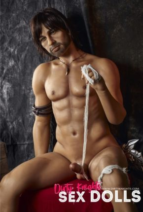 Charles male sex doll posing nude for Dirty Knights Sex Dolls (30)