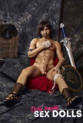 Charles male sex doll posing nude for Dirty Knights Sex Dolls (33)