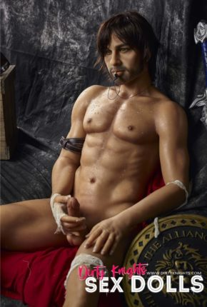Charles male sex doll posing nude for Dirty Knights Sex Dolls (36)