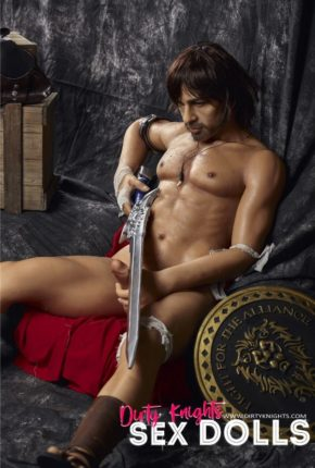 Charles male sex doll posing nude for Dirty Knights Sex Dolls (37)