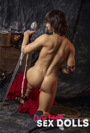 Charles male sex doll posing nude for Dirty Knights Sex Dolls (38)
