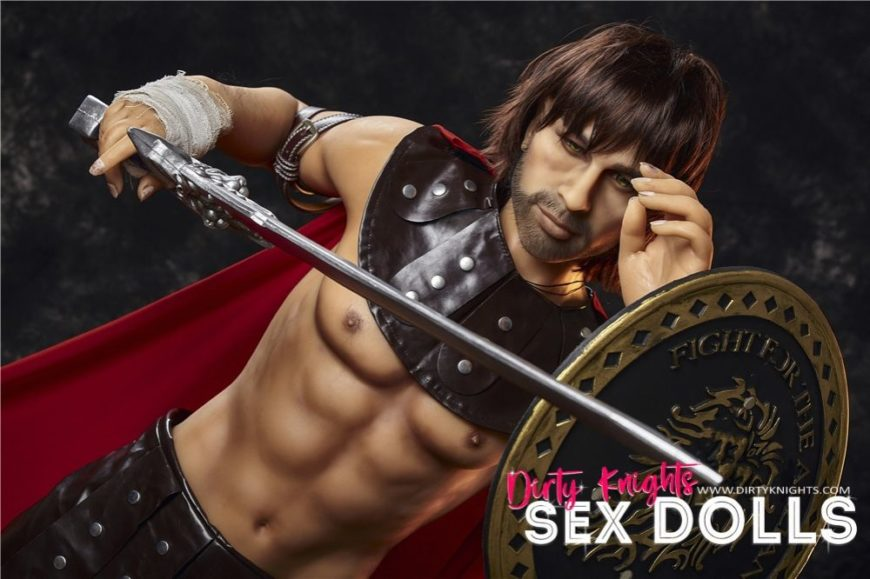 Charles male sex doll posing nude for Dirty Knights Sex Dolls (4)