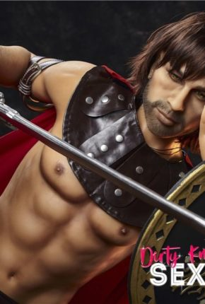 Charles male sex doll posing nude for Dirty Knights Sex Dolls (5)
