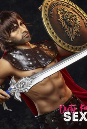 Charles male sex doll posing nude for Dirty Knights Sex Dolls (7)