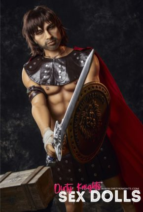 Charles male sex doll posing nude for Dirty Knights Sex Dolls (8)