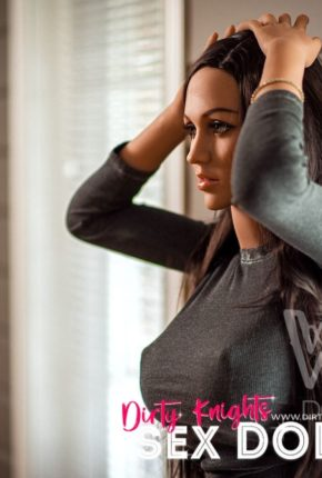 Myla Sex Doll posing sexy for Dirty Knights Sex Dolls (2)