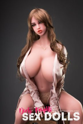 Heather posing nude for Dirty Knights Sex Dolls (1)
