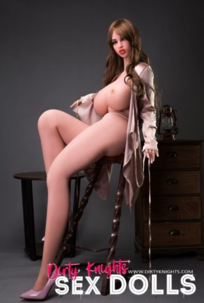 Heather posing nude for Dirty Knights Sex Dolls (16)