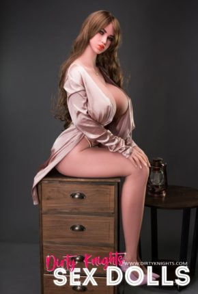 Heather posing nude for Dirty Knights Sex Dolls (18)
