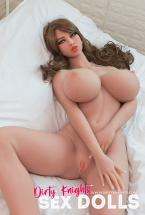 Heather posing nude for Dirty Knights Sex Dolls (4)